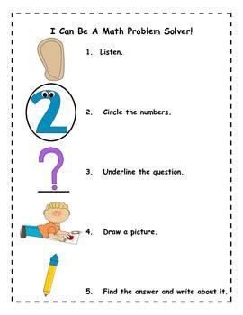 Grade 1 problem solving